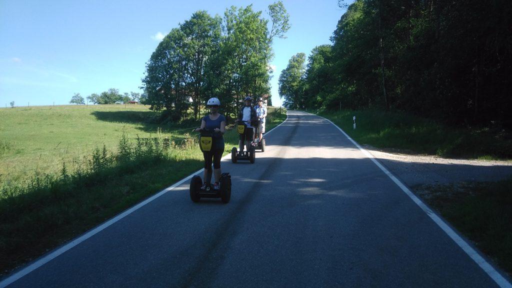 Segway PT Tour Hochberg Traunstein