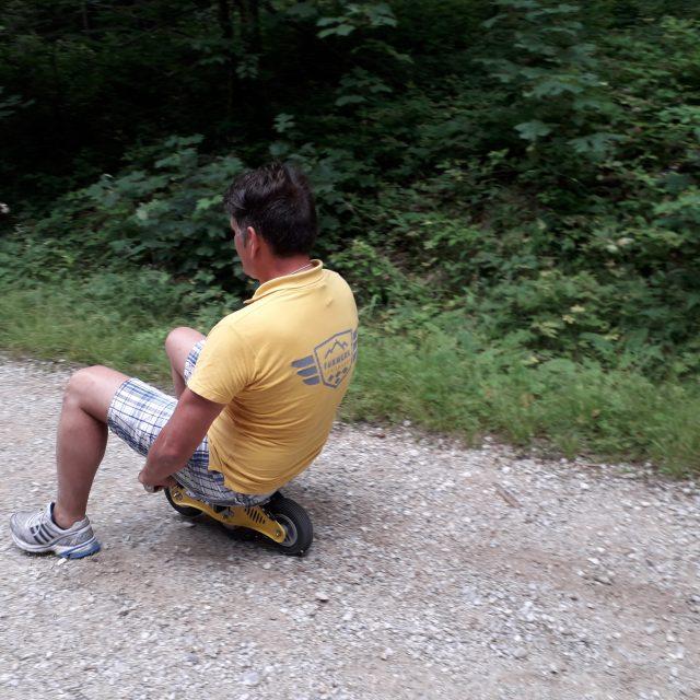 Bockerl fahren im Chiemgau