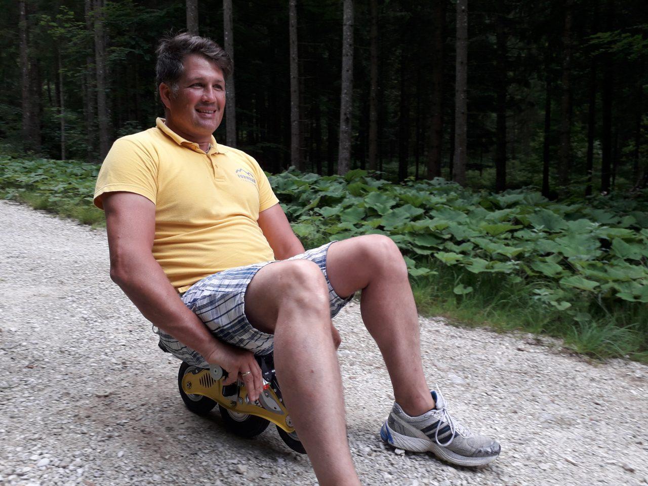 Bockerl fahren in Ruhpolding mit Funwerk Chiemgau