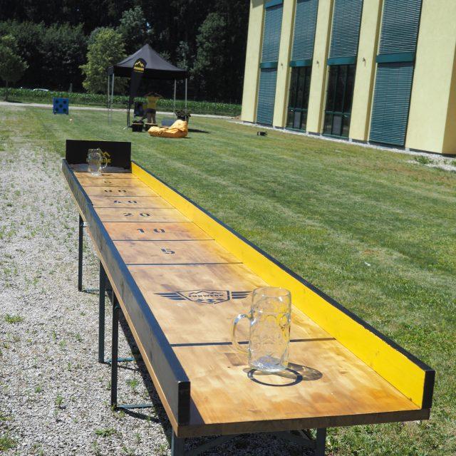 Maßkrugschieben - Funwerk Chiemgau